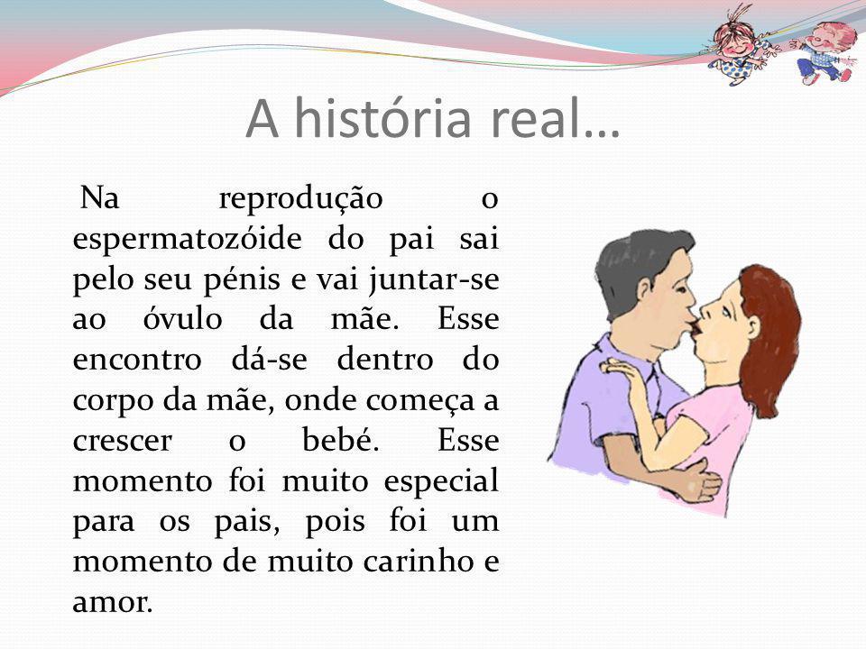 A história real…