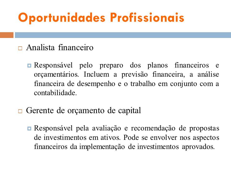 Oportunidades Profissionais