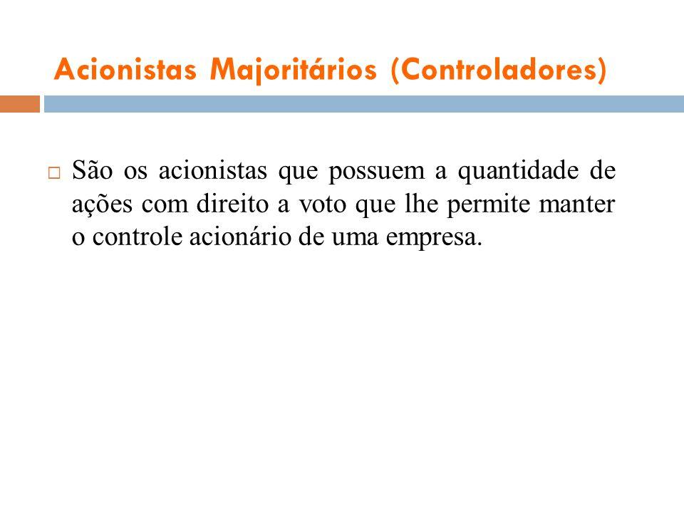 Acionistas Majoritários (Controladores)