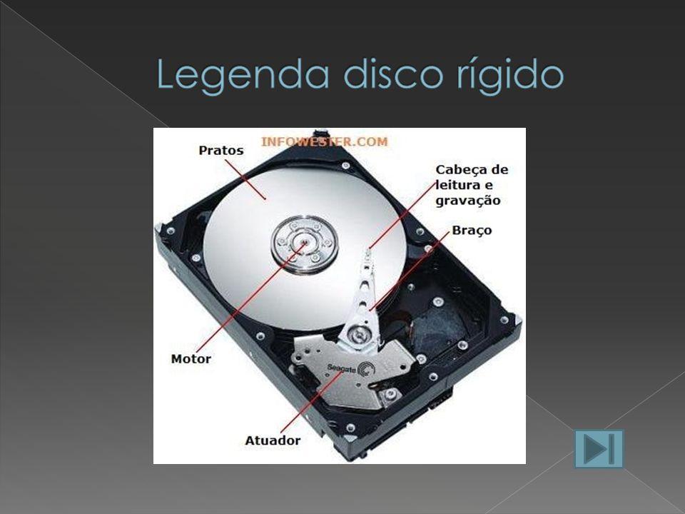 Legenda disco rígido