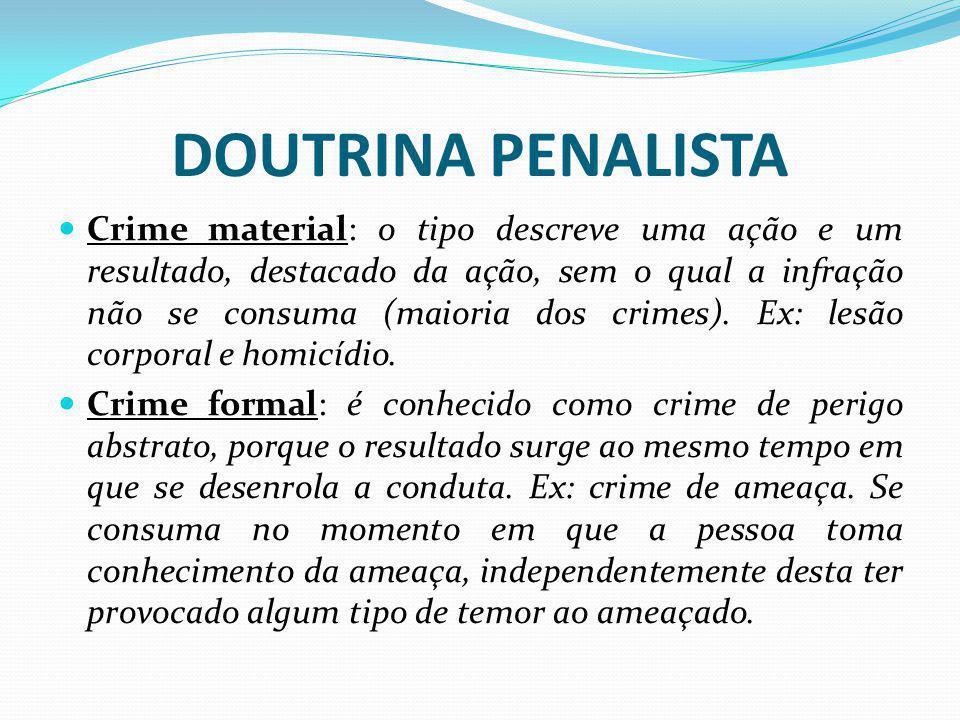 DOUTRINA PENALISTA