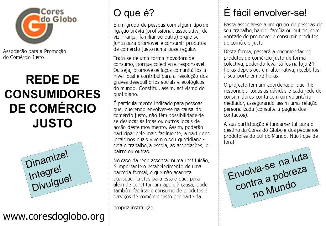 REDE DE CONSUMIDORES DE COMÉRCIO JUSTO