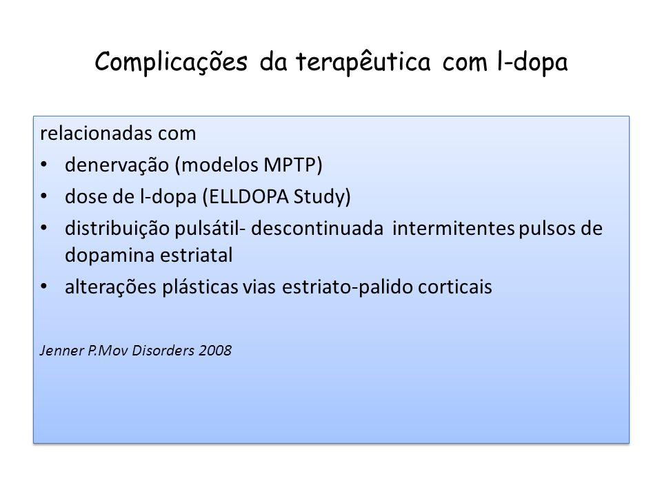 Complicações da terapêutica com l-dopa