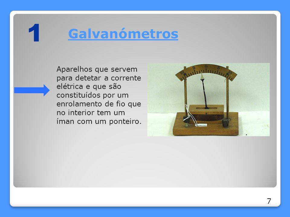 1 Galvanómetros.