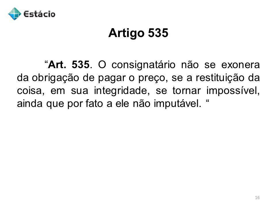 Artigo 535