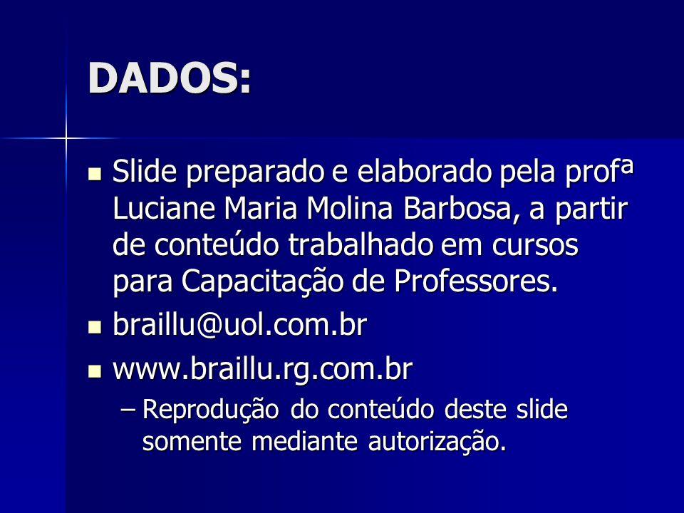 DADOS: