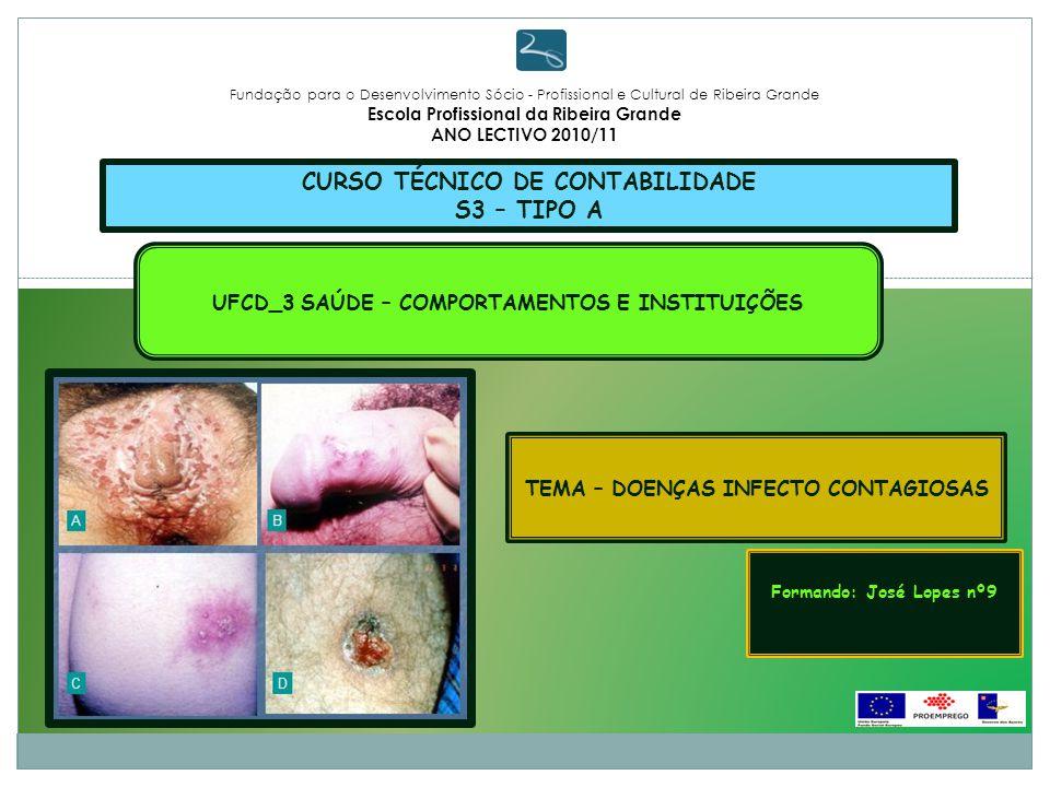 CURSO TÉCNICO DE CONTABILIDADE S3 – TIPO A