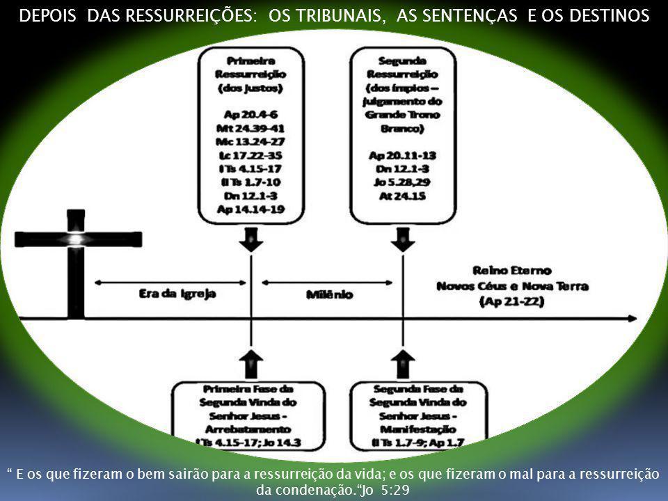 DEPOIS DAS RESSURREIÇÕES: OS TRIBUNAIS, AS SENTENÇAS E OS DESTINOS