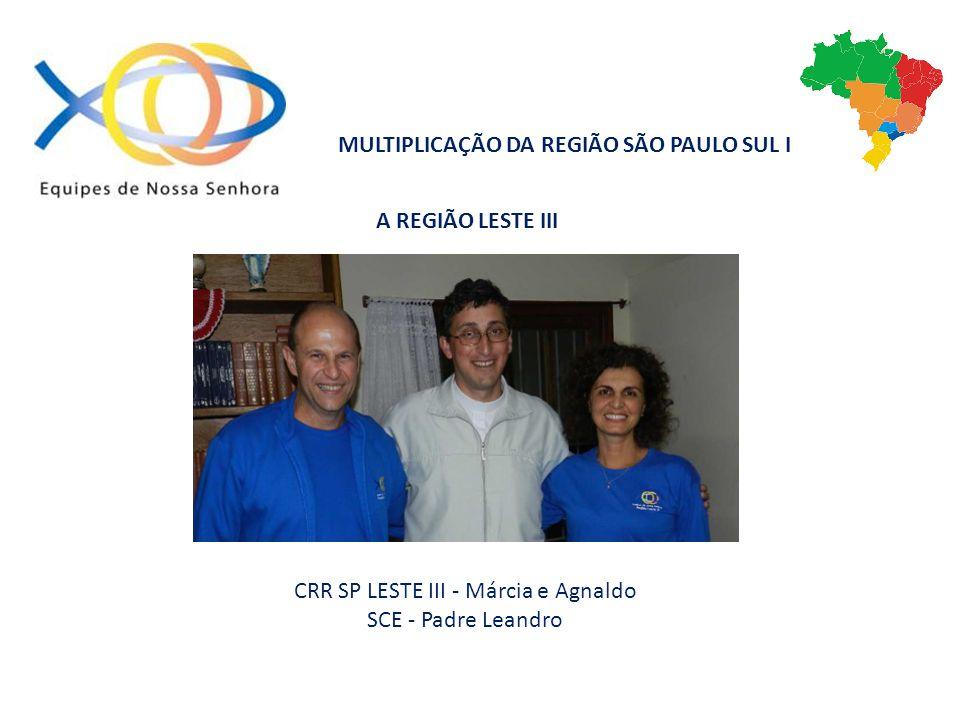 CRR SP LESTE III - Márcia e Agnaldo