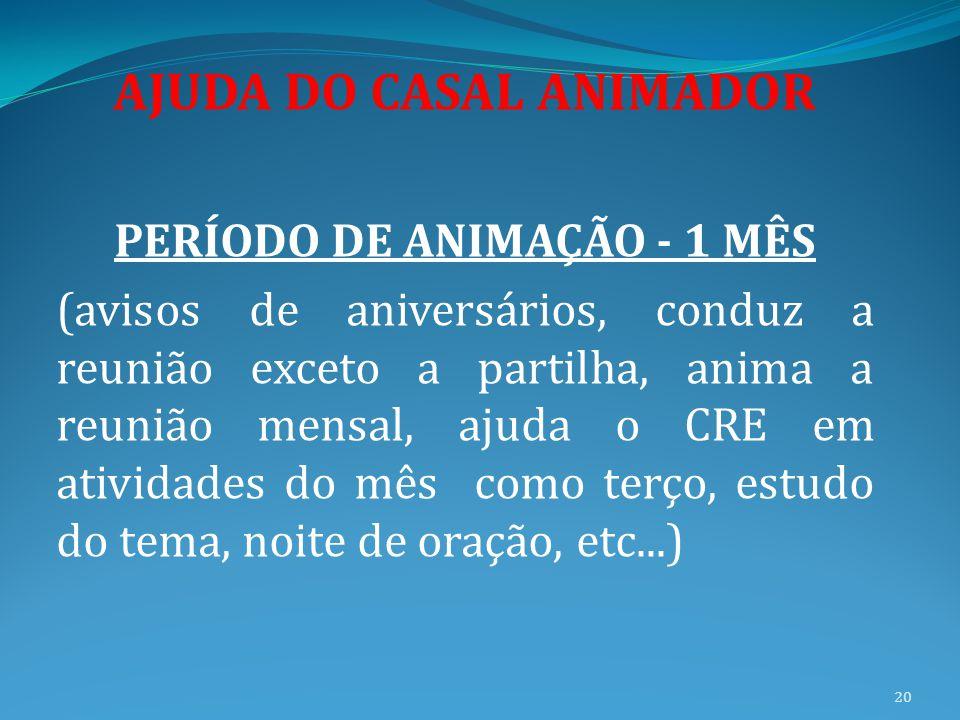 AJUDA DO CASAL ANIMADOR