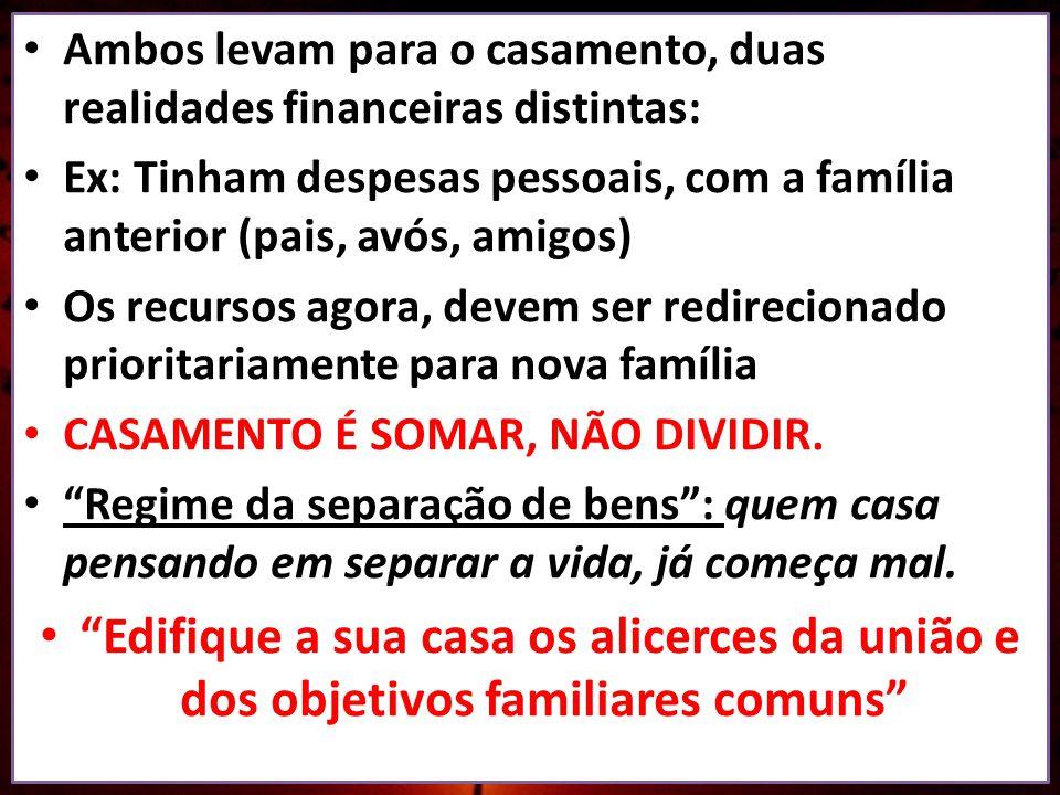 CASAR É ABRIR MÃO DE VIVER SOZINHO