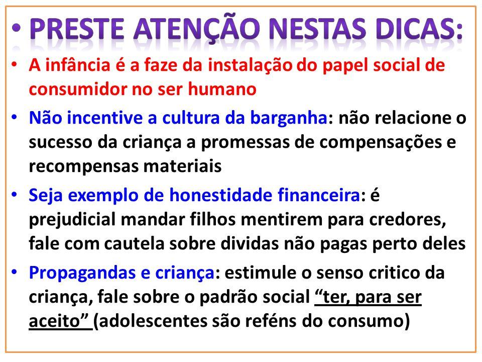 PRESTE ATENÇÃO NESTAS DICAS:
