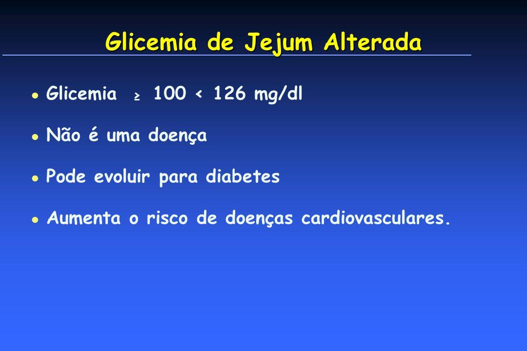 Glicemia de Jejum Alterada