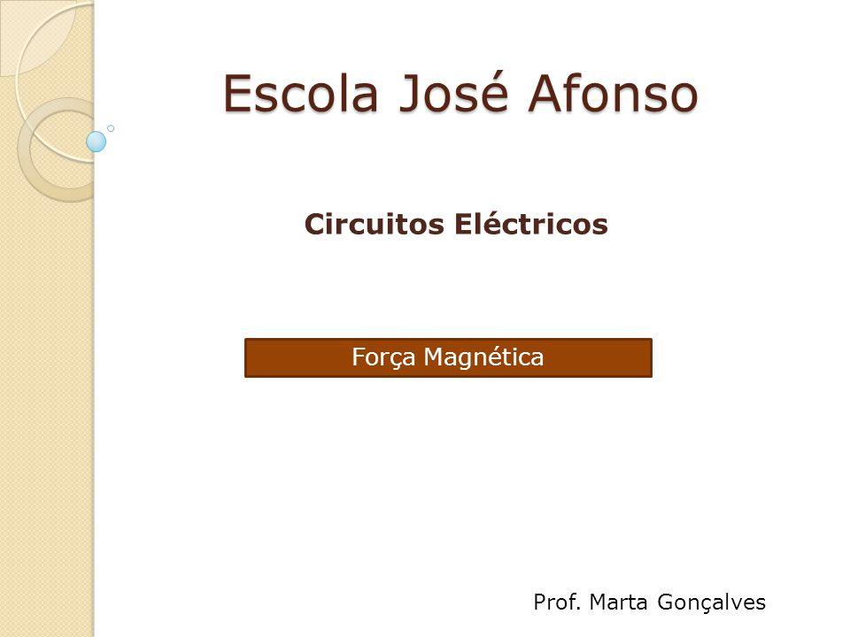 Escola José Afonso Circuitos Eléctricos Força Magnética