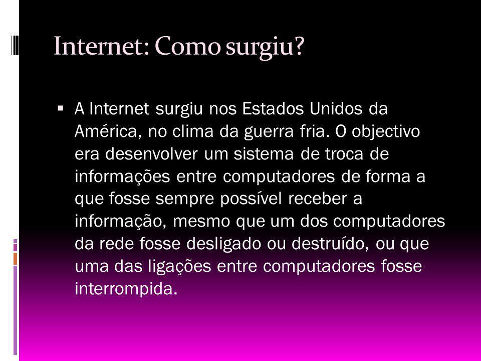 Internet: Como surgiu