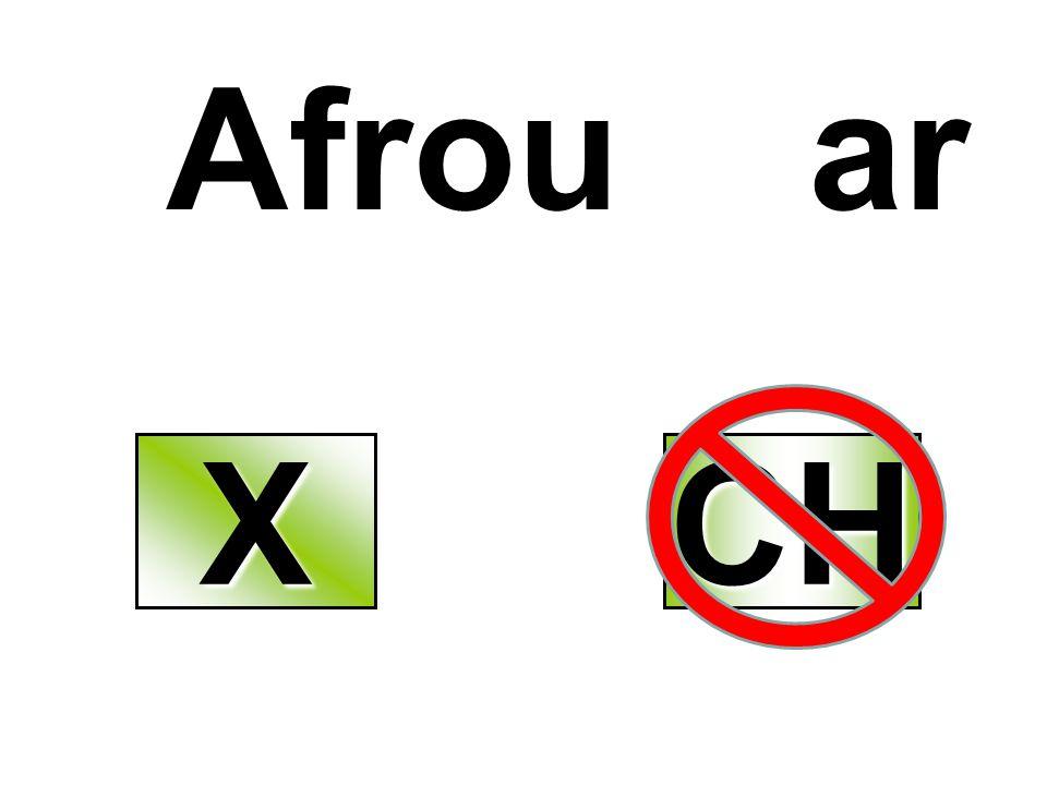 Afrou ar X CH