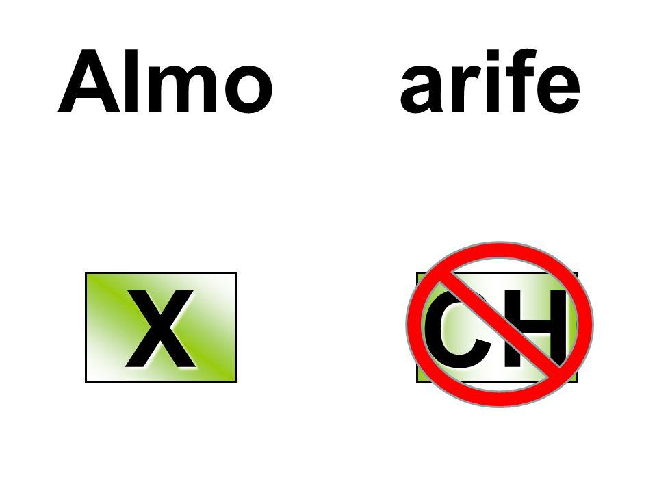Almo arife X CH