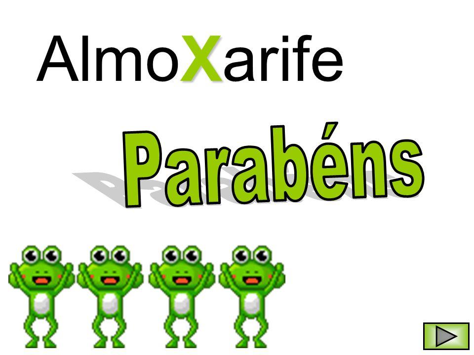 AlmoXarife Parabéns