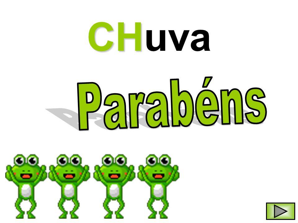CHuva Parabéns