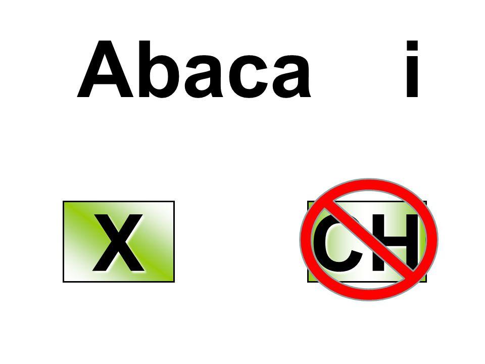 Abaca i X CH