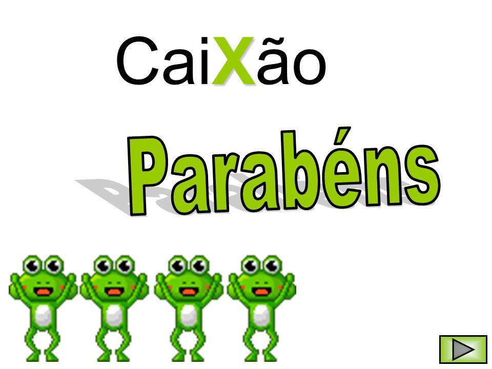 CaiXão Parabéns