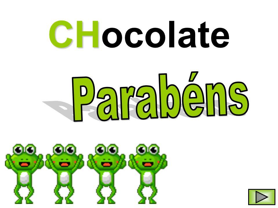 CHocolate Parabéns