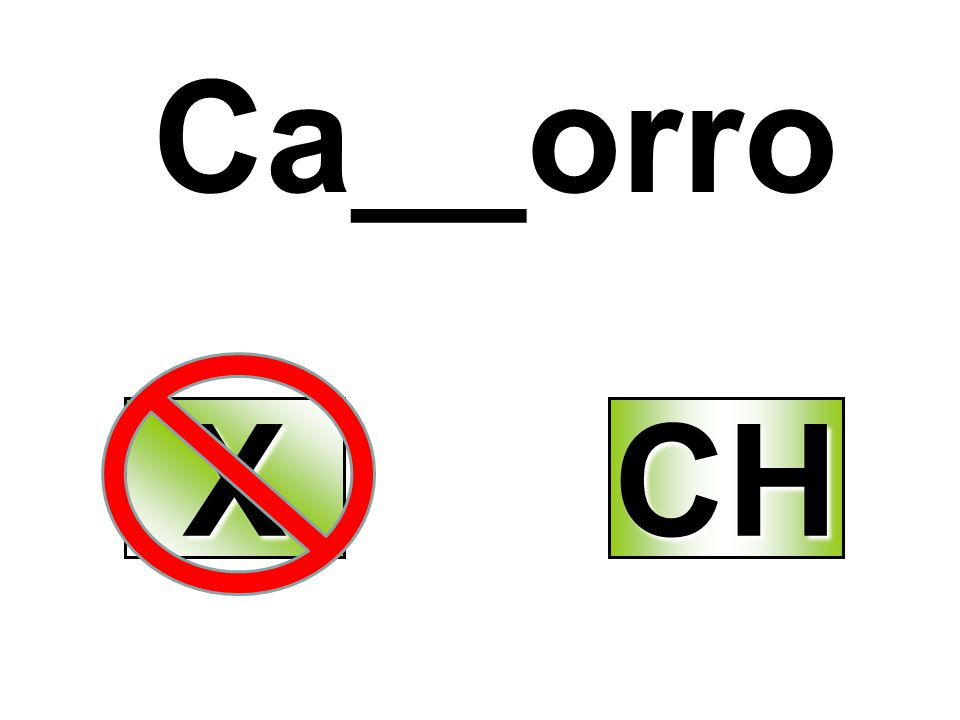 Ca__orro X CH