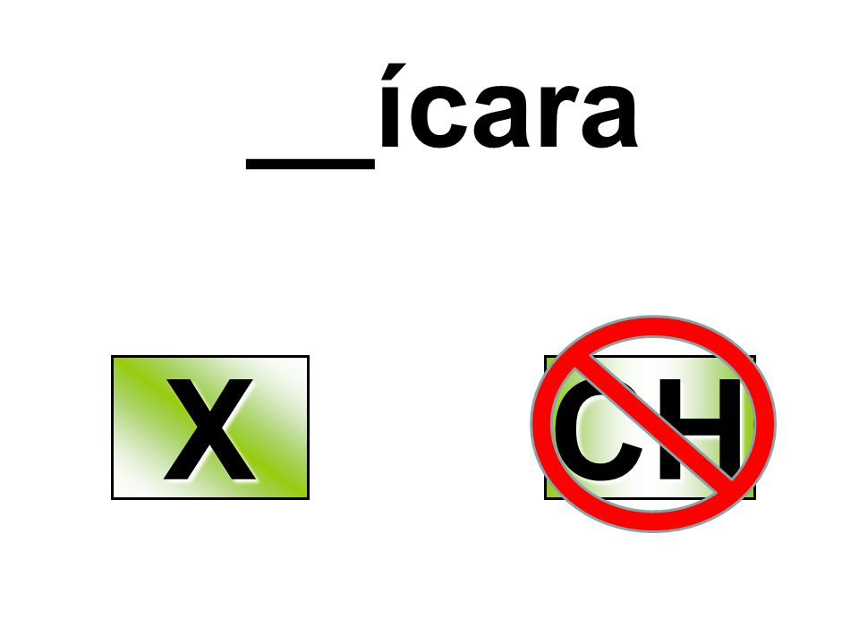 __ícara X CH