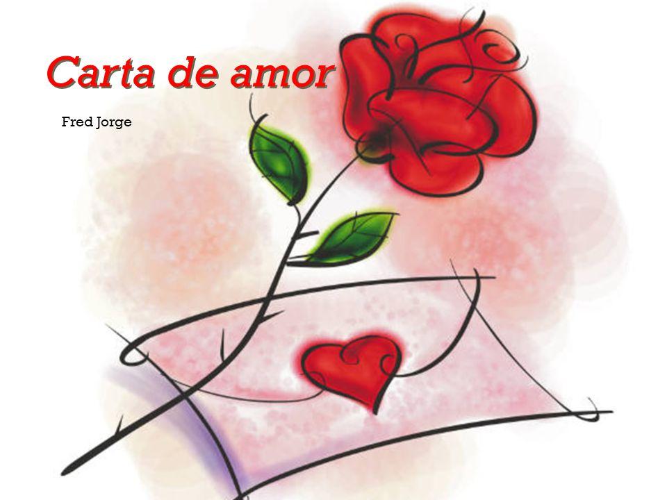 Carta de amor Fred Jorge
