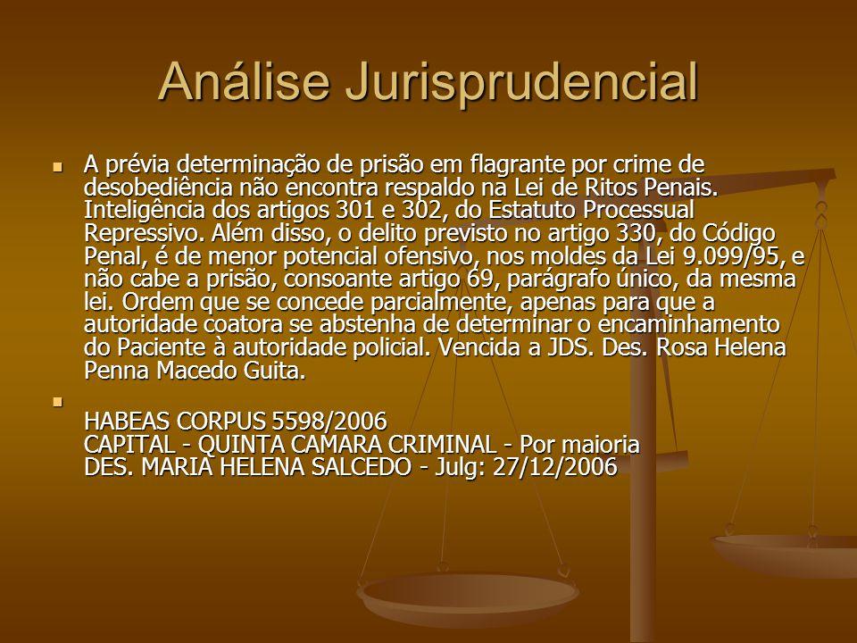 Análise Jurisprudencial