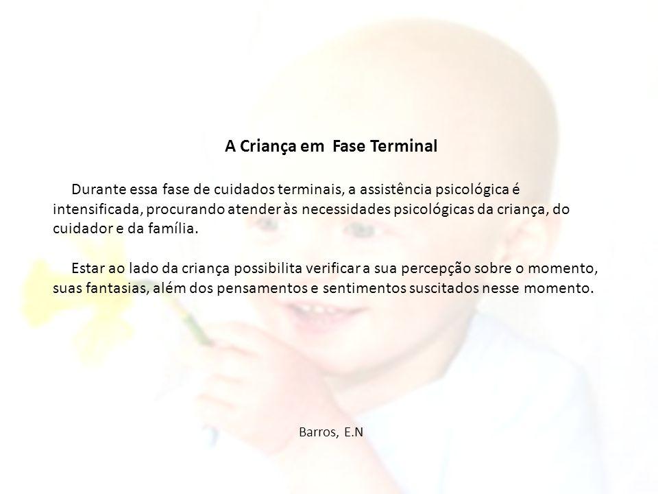 A Criança em Fase Terminal