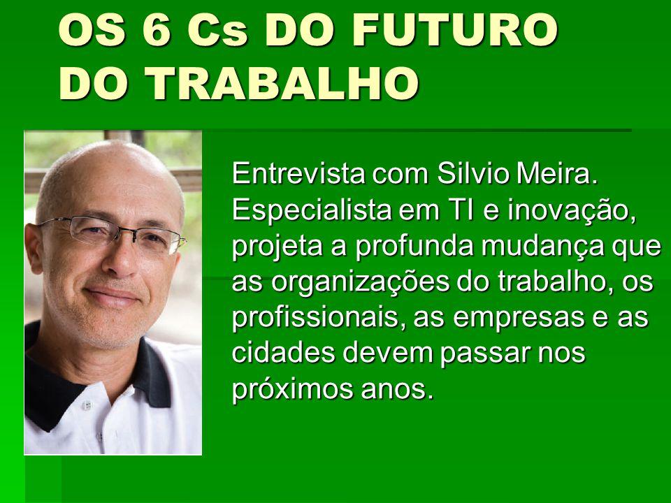 OS 6 Cs DO FUTURO DO TRABALHO
