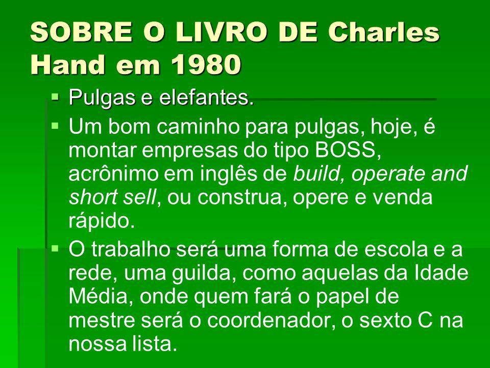 SOBRE O LIVRO DE Charles Hand em 1980