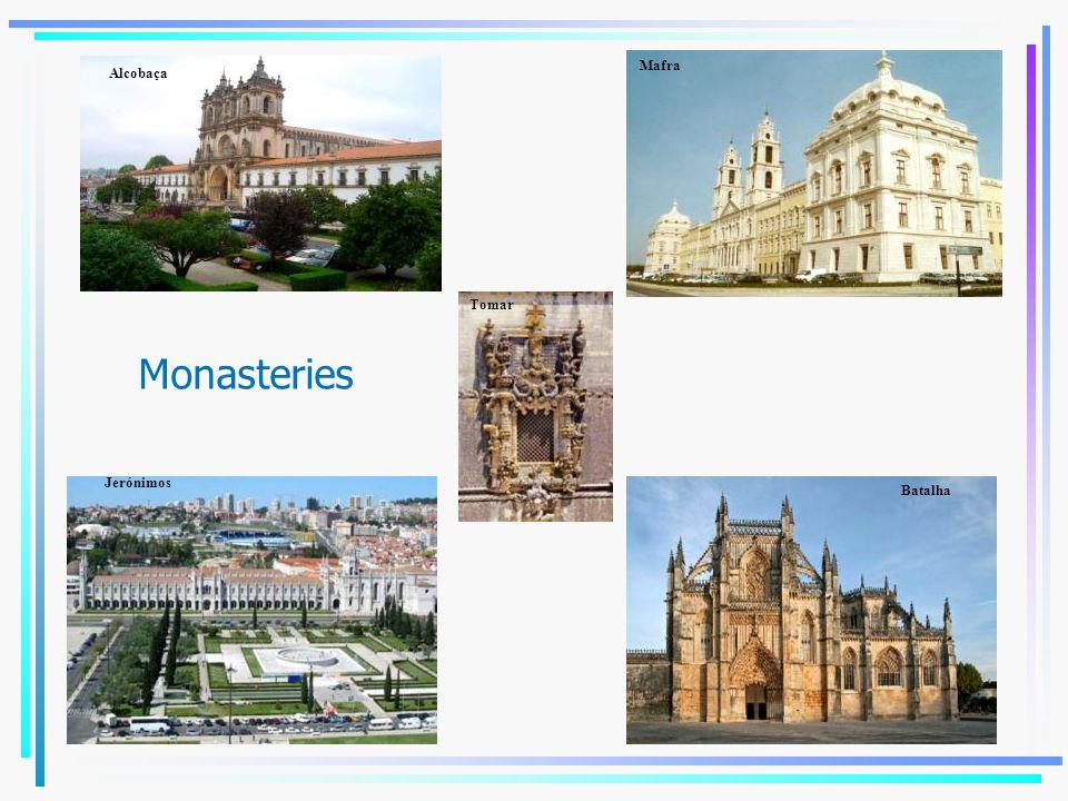 Mafra Alcobaça Tomar Monasteries Jerónimos Batalha Tomar