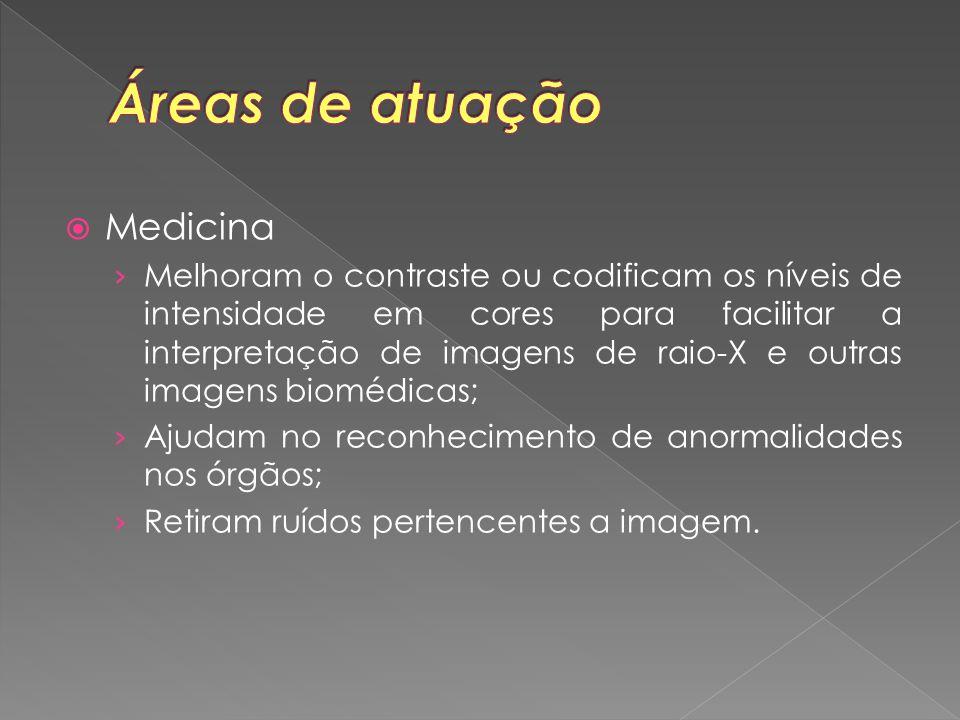Áreas de atuação Medicina