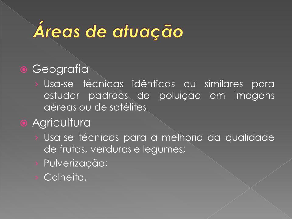 Áreas de atuação Geografia Agricultura