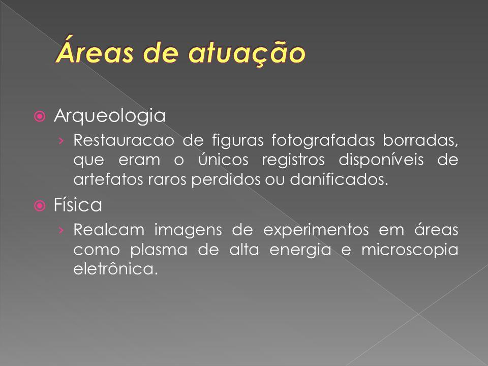 Áreas de atuação Arqueologia Física