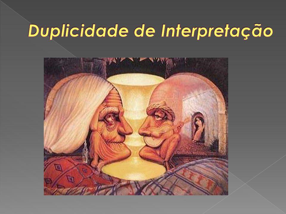 Duplicidade de Interpretação