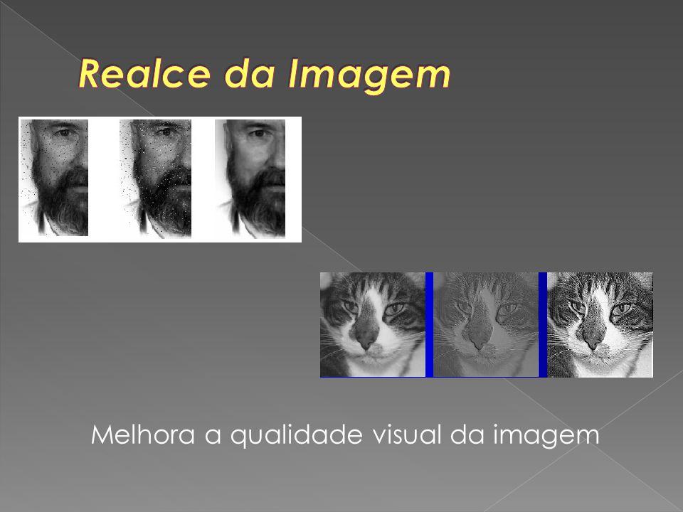 Melhora a qualidade visual da imagem