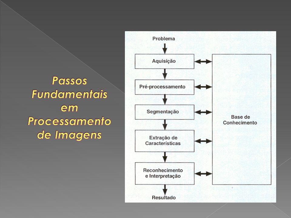 Passos Fundamentais em Processamento de Imagens