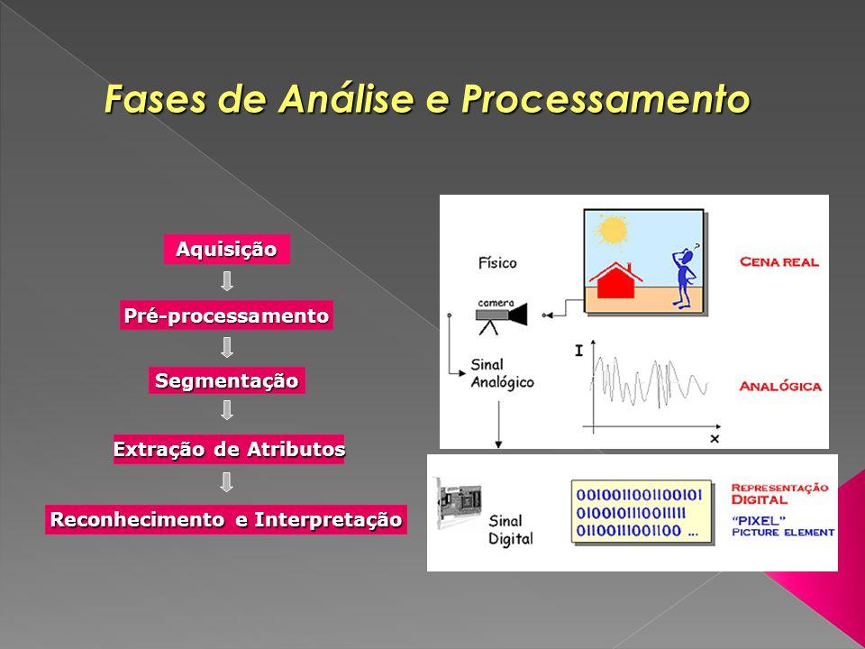 Fases de Análise e Processamento Reconhecimento e Interpretação
