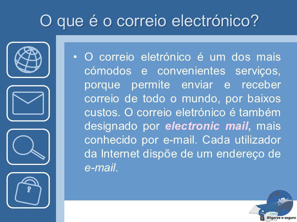 O que é o correio electrónico