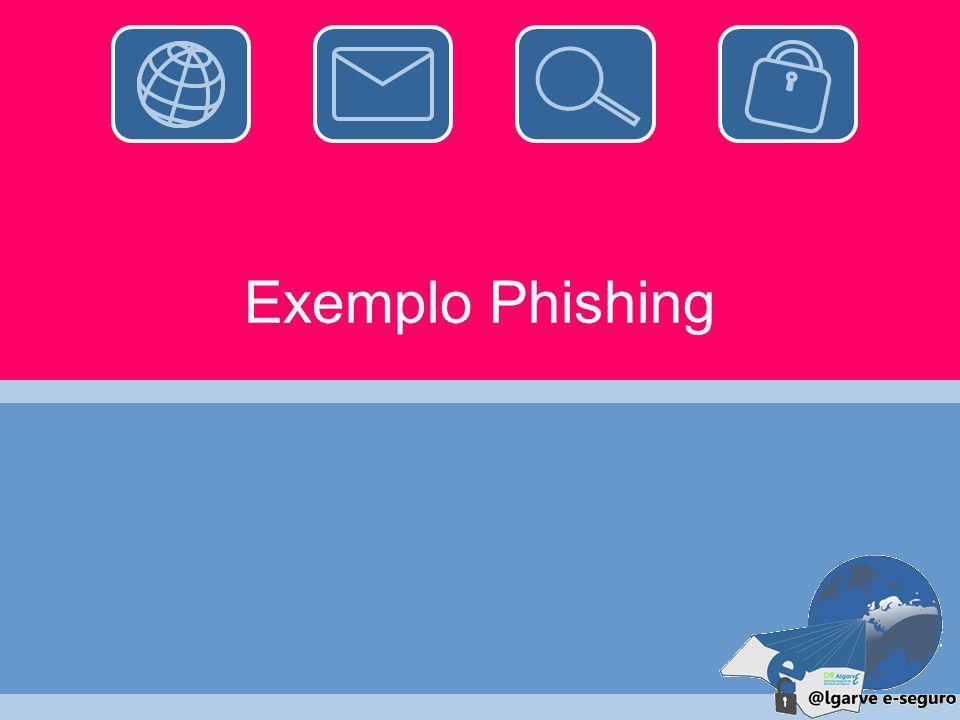 Exemplo Phishing