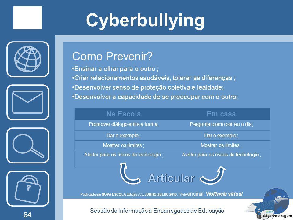 Cyberbullying Como Prevenir Articular Na Escola Em casa