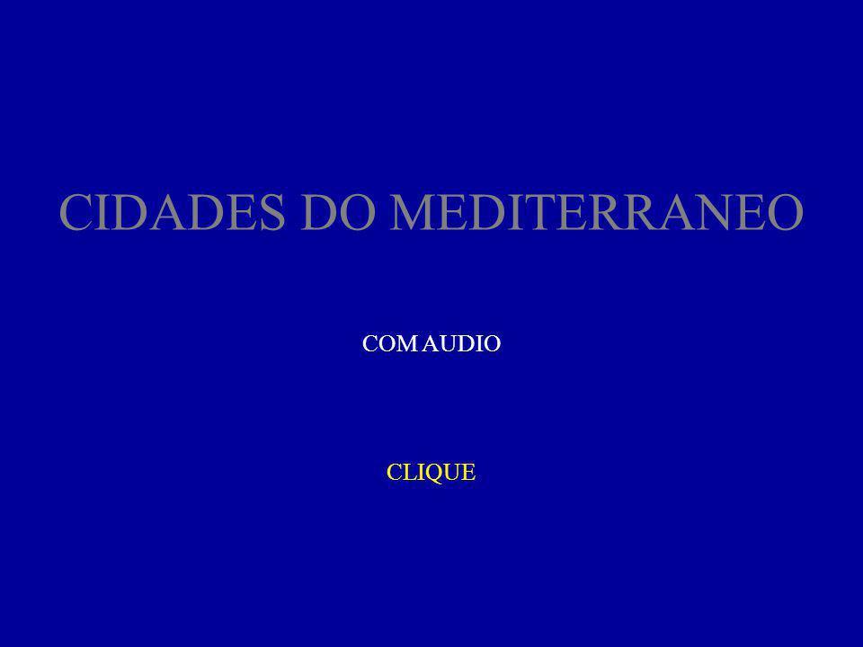 CIDADES DO MEDITERRANEO