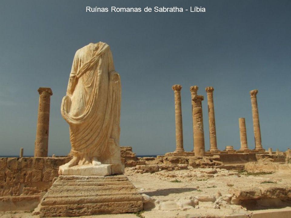 Ruínas Romanas de Sabratha - Líbia