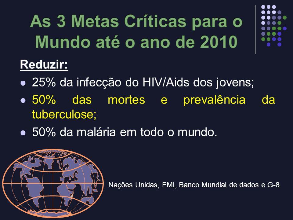 As 3 Metas Críticas para o Mundo até o ano de 2010