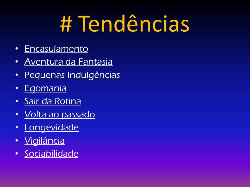 # Tendências Encasulamento Aventura da Fantasia Pequenas Indulgências