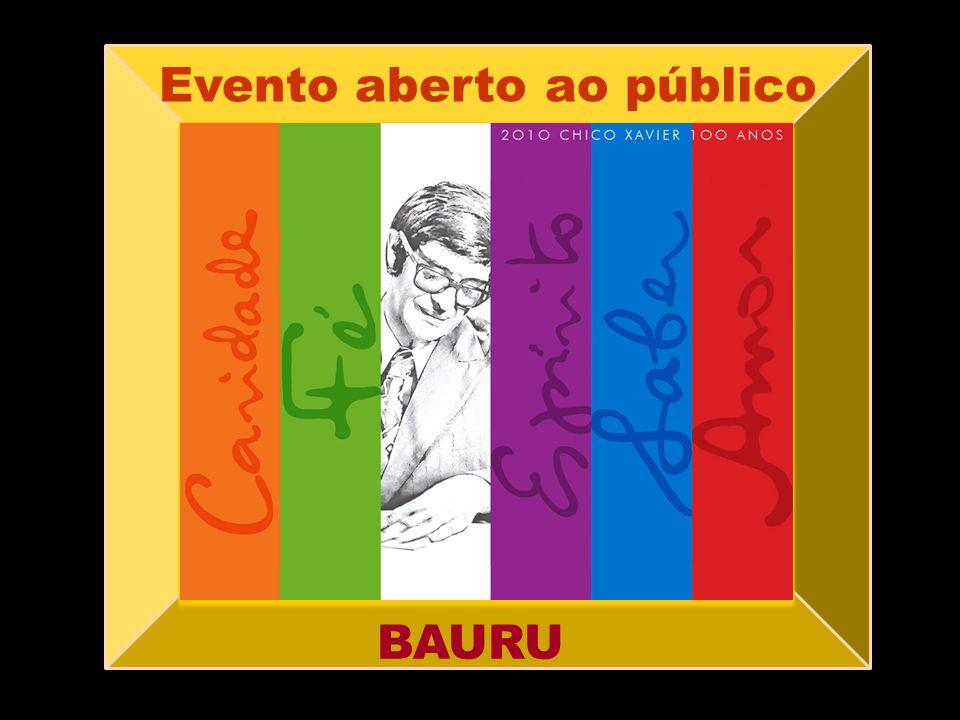 Evento aberto ao público