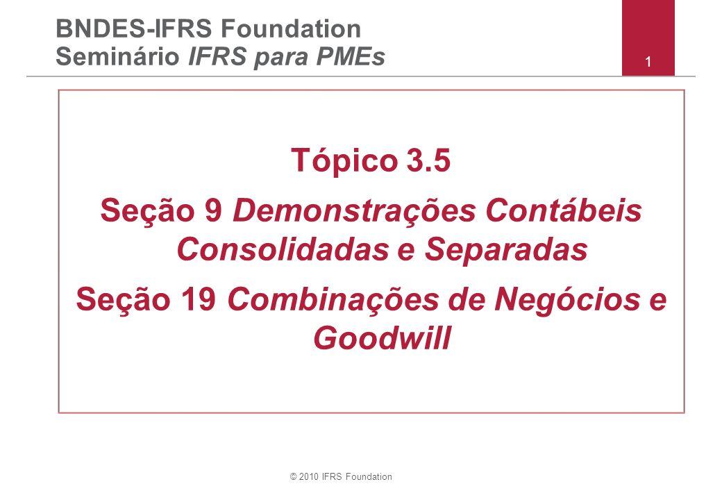 BNDES-IFRS Foundation Seminário IFRS para PMEs